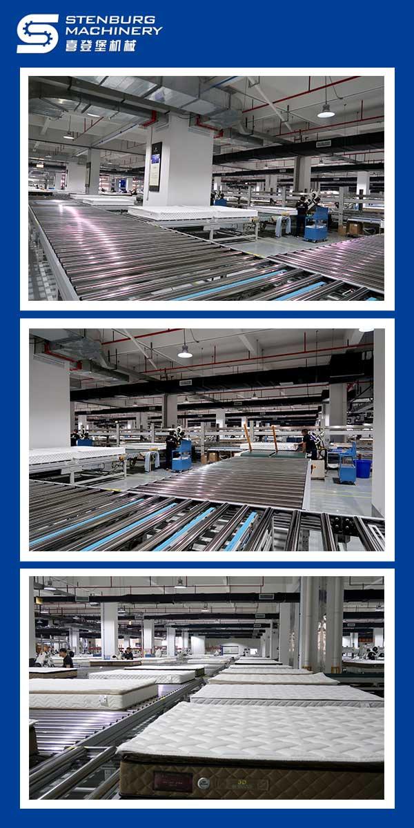 Plan de conception complète de la ligne de production de matelas 4